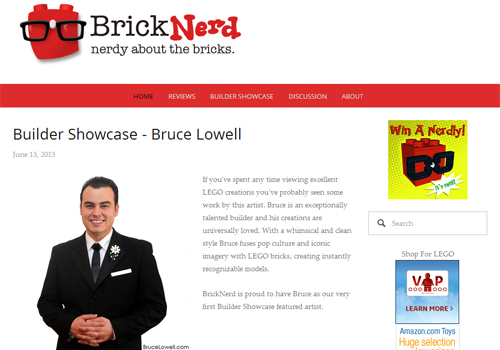 BrickNerd Builder Showcase