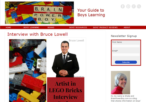 Brain Power Boy - Interview with Bruce Lowell