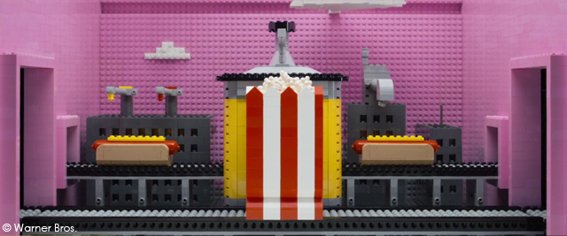 THE LEGO® MOVIE. TM & ® WARNER BROS. ENT. ALL RIGHTS RESERVED
