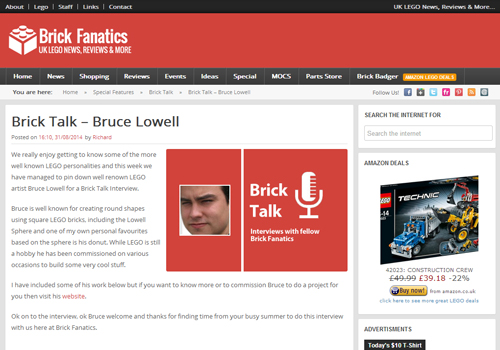 Brick Talk – Bruce Lowell